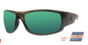 Torrent Cedar/Green Mirror Sunglasses