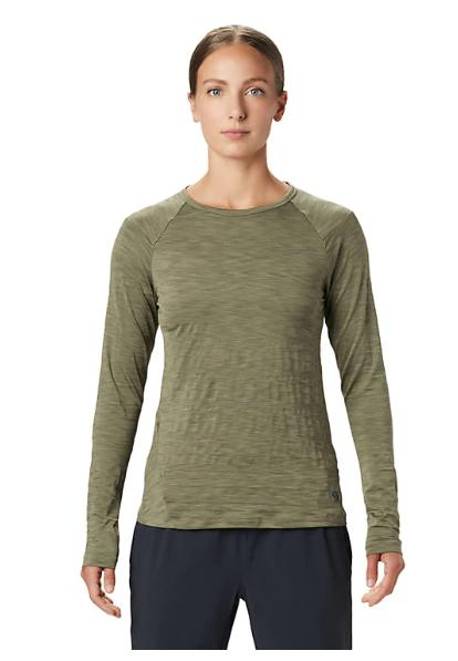 Women's Mighty Stripe Long Sleeve T- Shirt