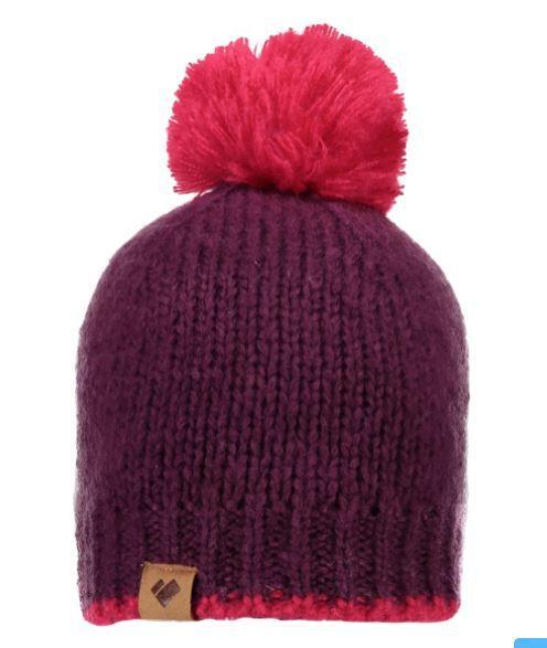 Girl's Chicago Knit Pom Hat