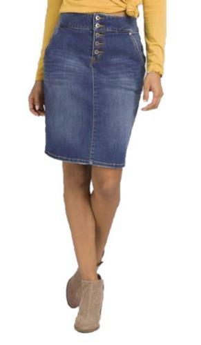 Women's Aubrey Denim Skirt