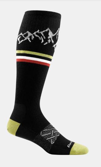 Alpenglow Over- The- Calf Light Sock