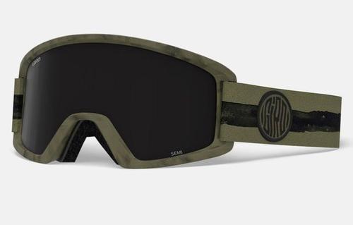Semi Goggle - Olive Dye Line/Ultra Black/Yellow (18/19)