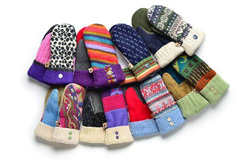 Peapack Mitten - Assorted