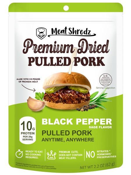 Black Pepper Sage Pulled Pork