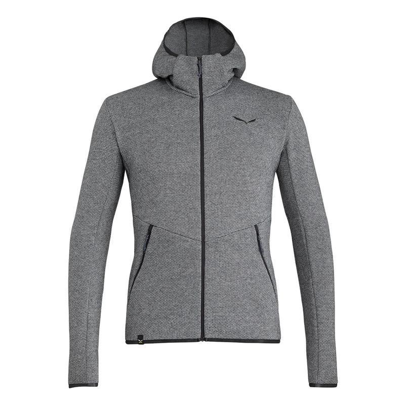 Puez Wool Full- Zip Hoodie
