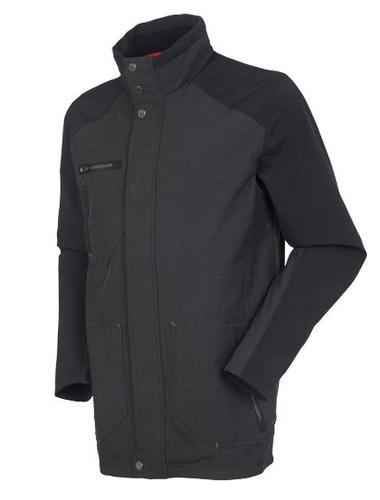 Furguson Zephal Z- Tech Waterproof Melange Stretch Woven Car Coat