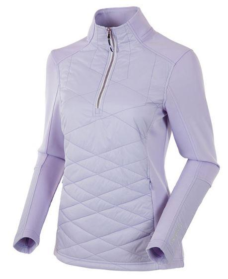 Women's Daisey Hybrid Thermal Stretch Half- Zip Pullover