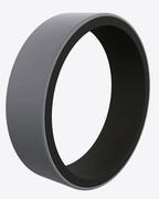 Switch Grey and Black Silicone Ring