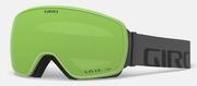 Agent Goggle - Grey Wordmark / Vivid Emerald / Vivid Infrared (19/20)