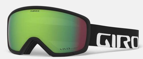 Ringo Goggle - Black Wordmark/Vivid Emerald (19/20)