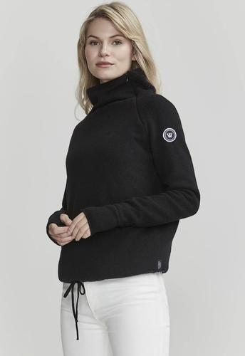 Women's Martina Knitted Windproof Sweater Wool