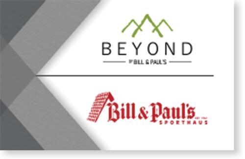 Bill & Paul's $100 Gift Card