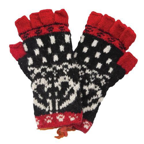 Women's Gardenia Fingerless Gloves