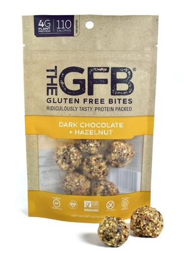 Dark Chocolate Hazelnut Bites