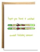 Wicked Holidays Card
