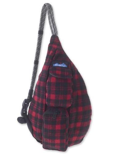 Mini Rope Plaid Bag