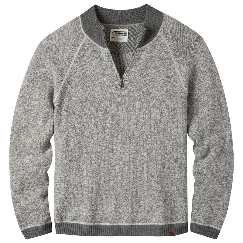 Crafted Quarter Zip Sweater