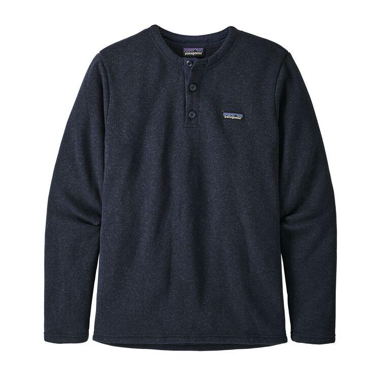 Better Sweater Fleece Henley Pullover