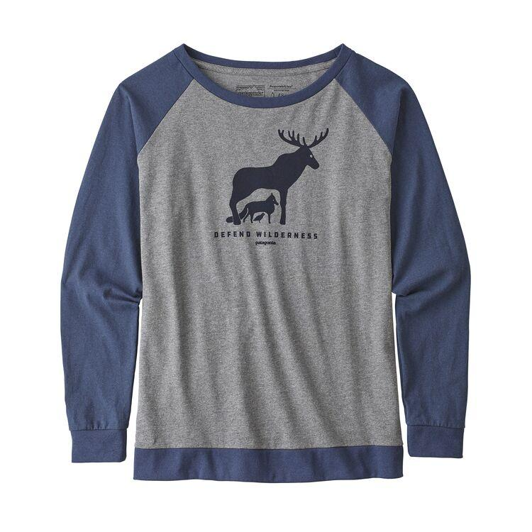 Women's Long- Sleeved Defend Wilderness Responsibili- Tee