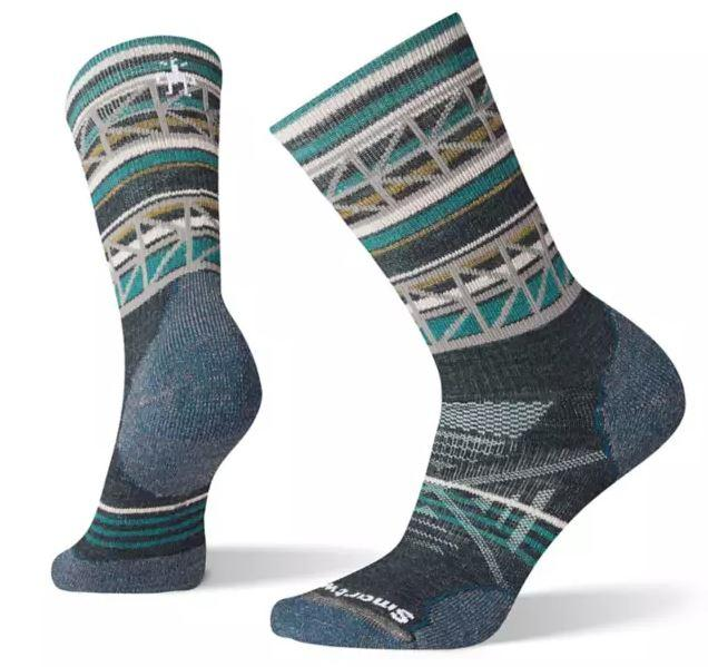 Women's Phd ® Outdoor Medium Pattern Hiking Crew Socks
