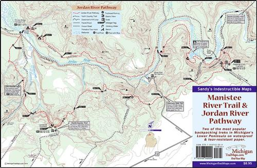 Manistee River Trail & Jordan River Pathway (Waterproof)