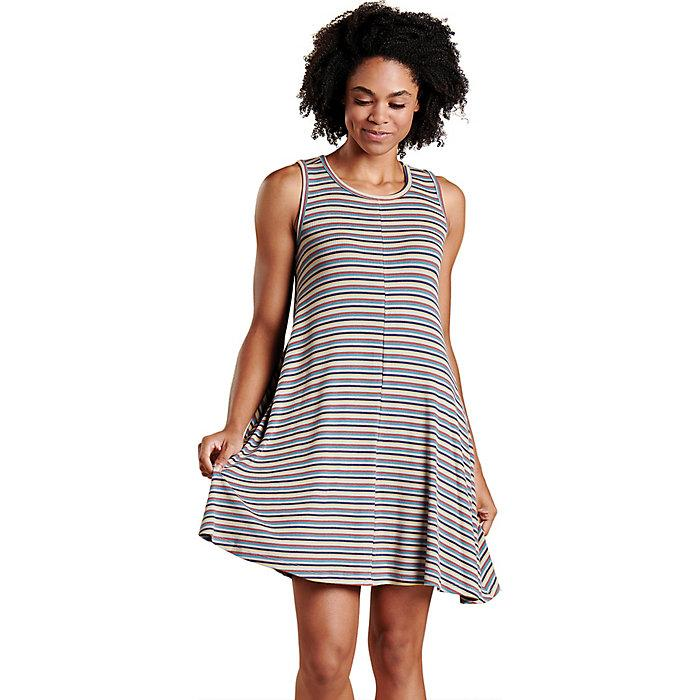 Women's Daisy Rib Sleeveless Dress