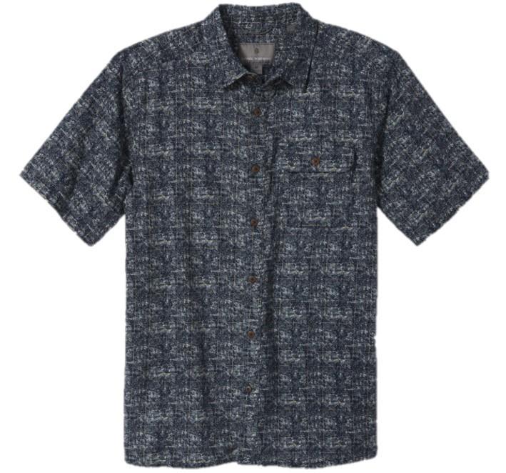 Men's Cool Mesh Eco Print Ss Shirt