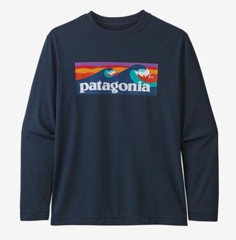 Boy's Long Sleeve Capilene Cool Daily T- Shirt
