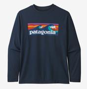 Boy's Long Sleeve Capilene Cool Daily T-Shirt
