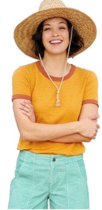 Women's Grom Ringer Short Sleeve Tee