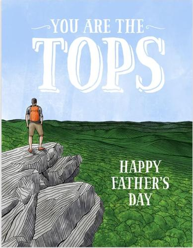 Tops Father's Day Card