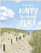 Happy Place Birthday Card
