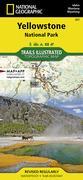 TI Yellowstone National Park Map