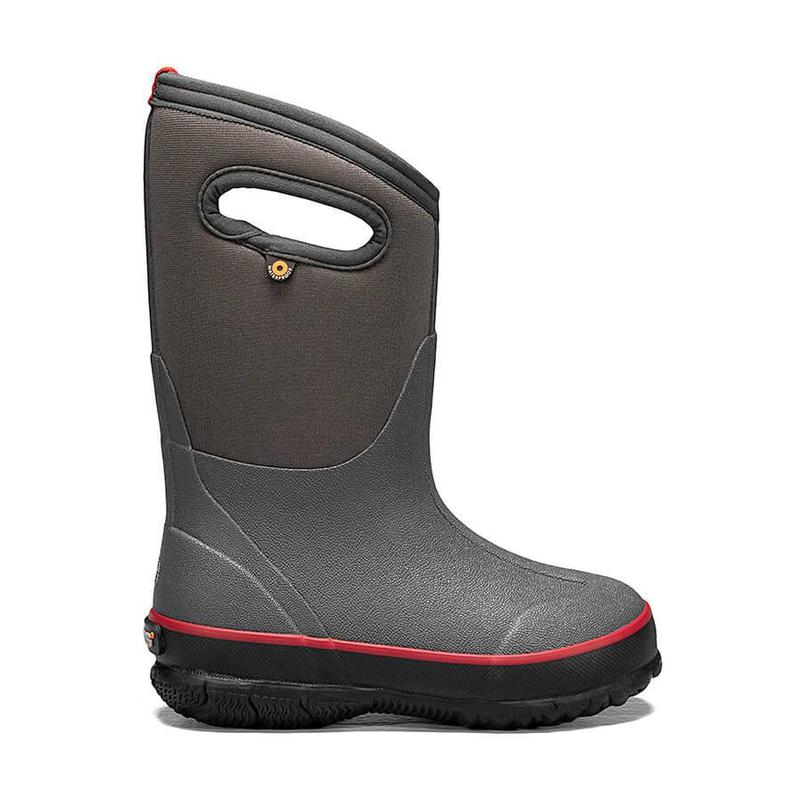 Kids ' Classic Texture Solid Boot