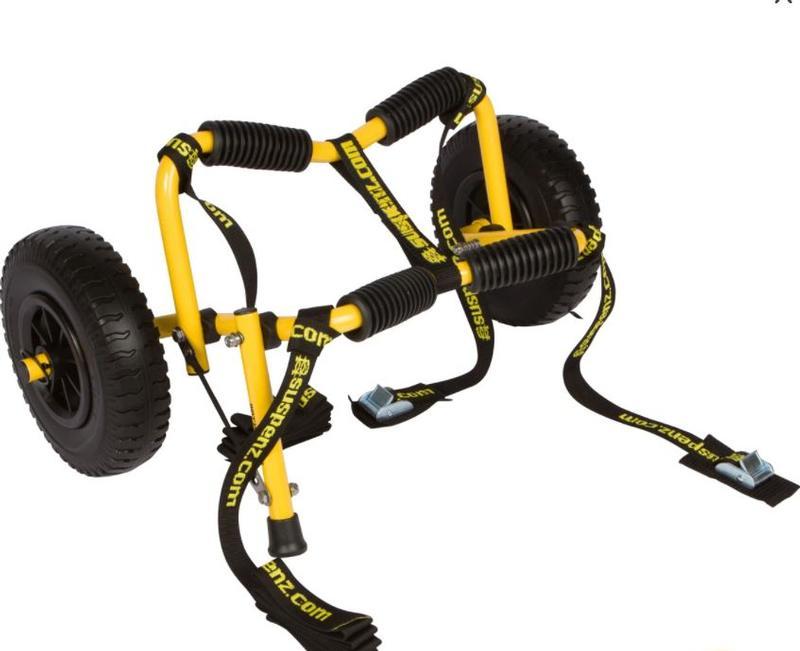 Stowable Airless Kayak Cart