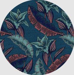 Sapphire Blossoms Patch
