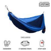 Double Deluxe Parachute Nylon Hammock