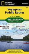 Voyageurs Paddle Routes Map