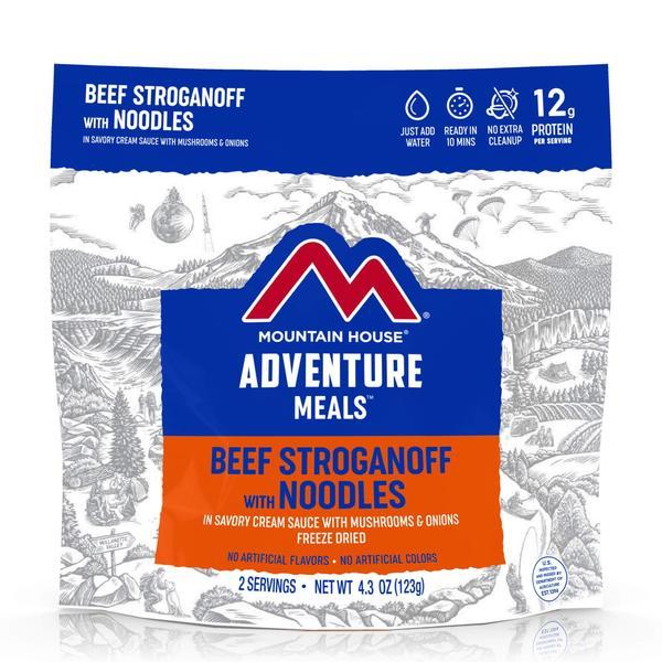 2p Beef Stroganoff With Noodles