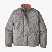 Girl's Diamond Quilt Jacket
