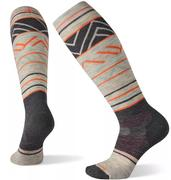 Women's Performance Snow Targeted Cushion Pattern Over The Calf Socks