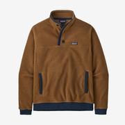 Men's Shearling Button Pullover
