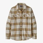 Women's Long Sleeve Fjord Flannel Shirt