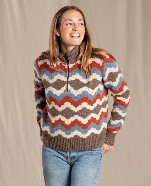 Women's Wilde 1/4 Zip Sweater