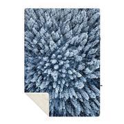 Sherpa Puffy Print Blanket