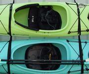 Wall Kayak Hanger Strap Set (1 Boat/SUP)