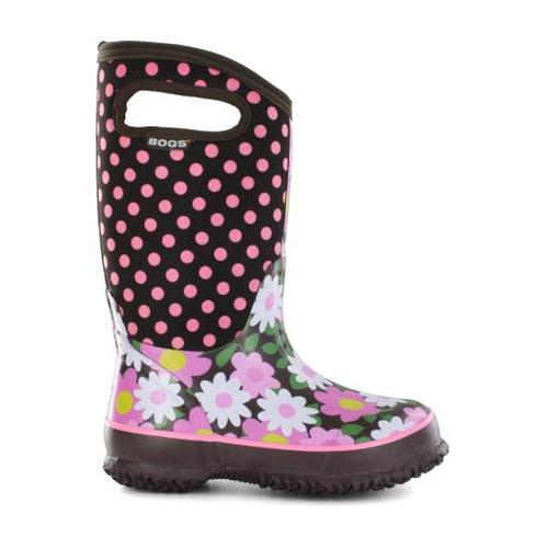 Girl's Classic Boots - Flower Dots
