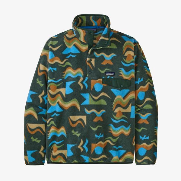 Men's Lw Synchilla Snap- T Fleece Pullover