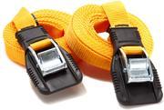 12' Heavy-Duty Utility Straps - Yellow