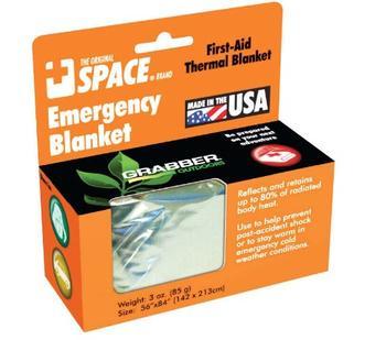 Emergency Space Blanket- Silver